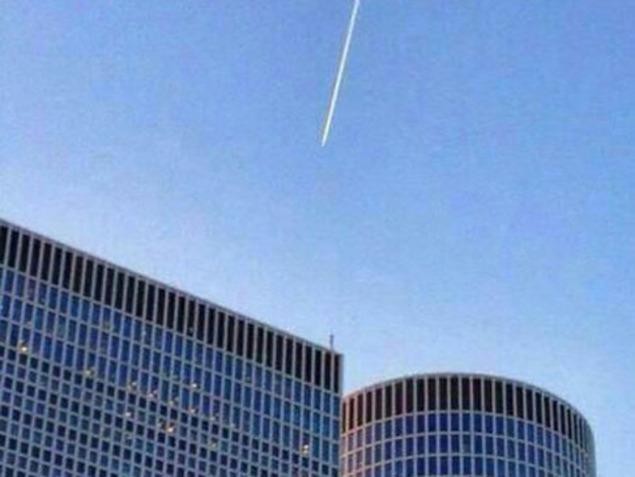 מטוס קרב סורי בשמי תל אביב