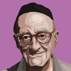 Yeshayahu-Leibowitz-portrait-Gil-Dekel