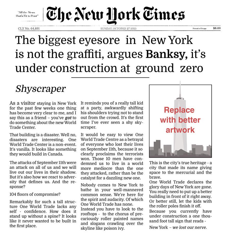 banksy-new-york-times