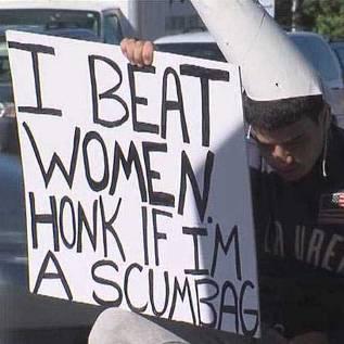 Honk if I'm a scumbag-thumb