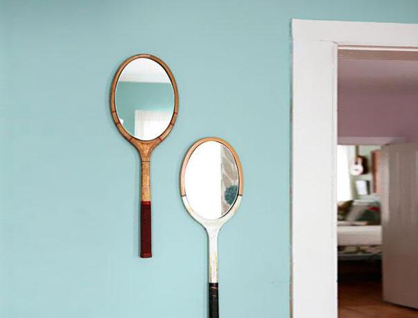 מחבטי טניס שהפכו למראות