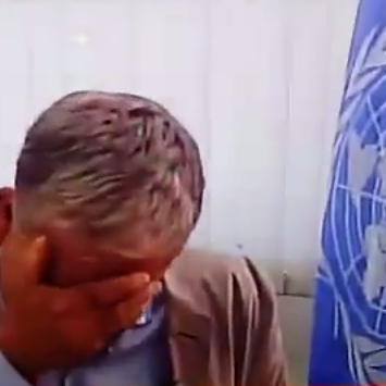 Christopher-Gunness-UNRWA-crying-thumb