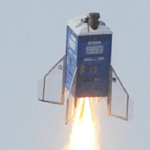 PORTA-POTTY ROCKET LAUNCH